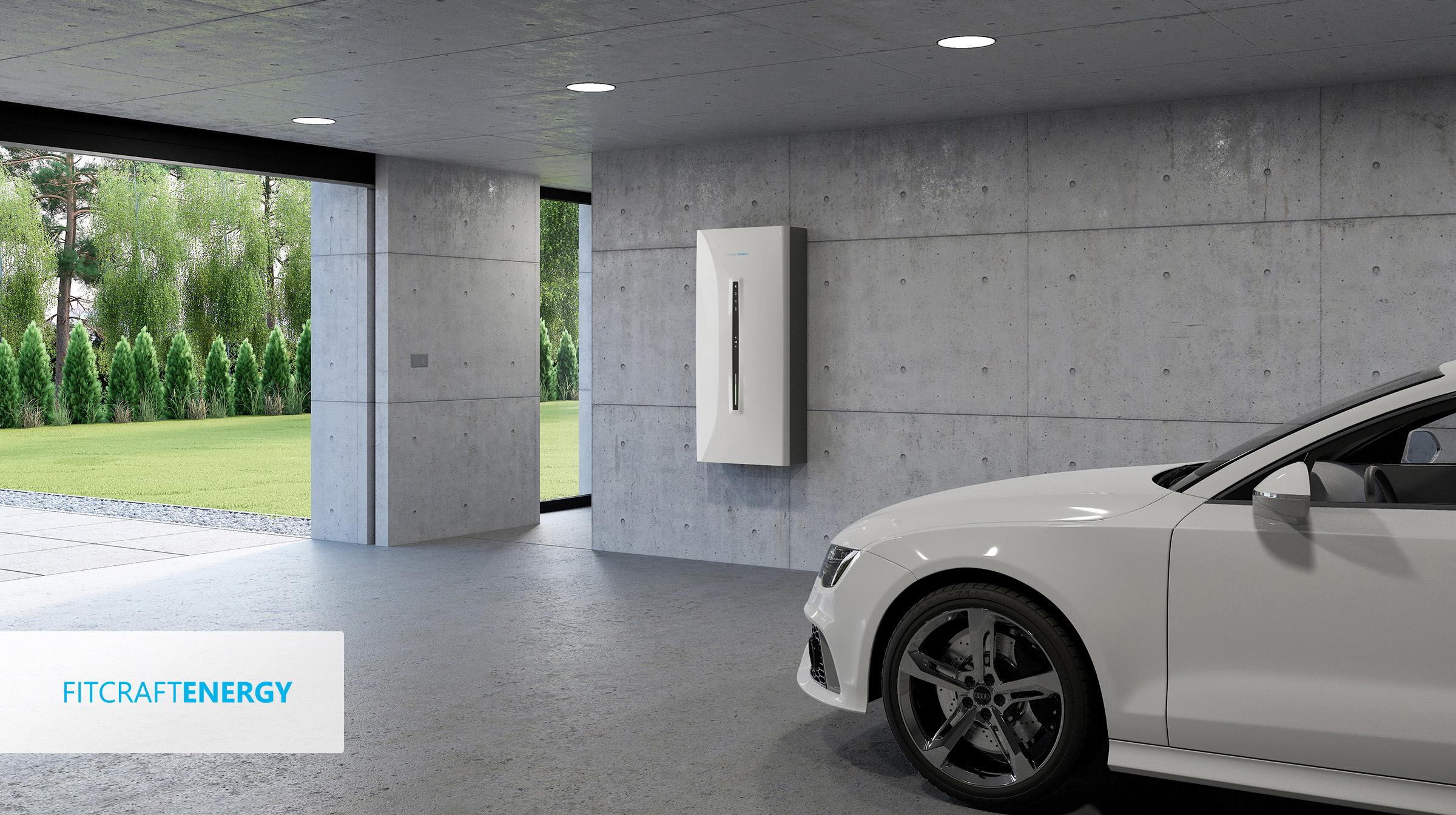 Bateriové úložiště Savebox Home od Fitcraft Energy